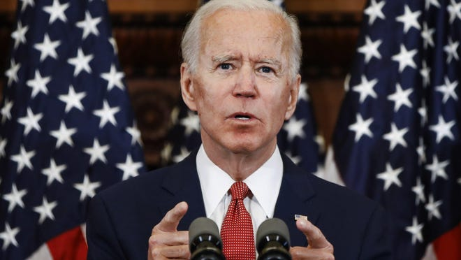 Democratic presidential candidate Joe Biden is trailing President Donald Trump by 1 point in a new poll of registered voters in Texas.