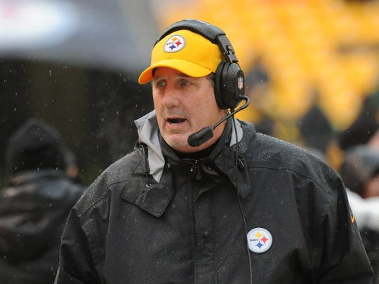 Pittsburgh Steelers defensive coordinator Keith Butler has coached in three Super Bowls with the franchise, winning two of them.