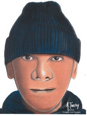 The sketch was released Thursday morning by police.