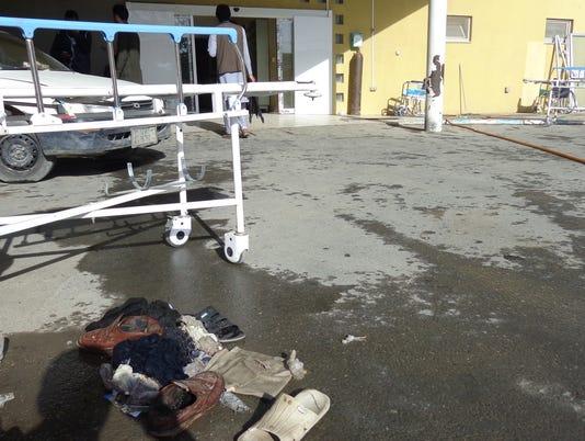 EPA AFGHANISTAN MOSQUE SUICIDE BOMB BLAST WAR CONFLICTS (GENERAL) AFG