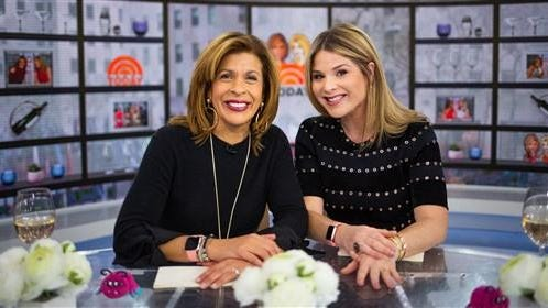 """NBC appointed Jenna Bush Hager, right, as co-host of the """"Today"""" show's fourth hour with Hoda Kotb."""