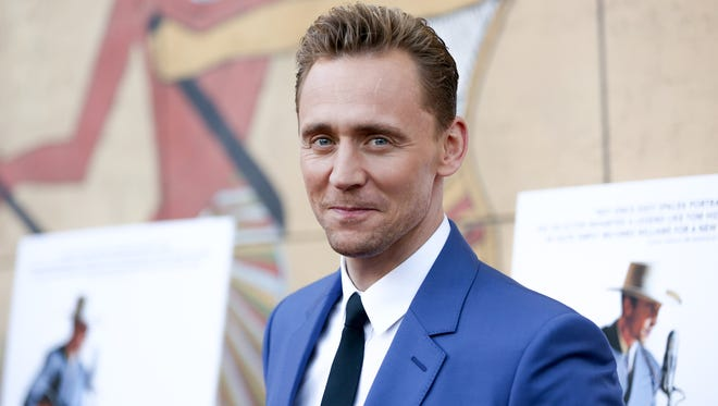 "Tom Hiddleston arrives at the Los Angeles premiere of ""I Saw the Light"" at the Egyptian Theatre  on March 22."