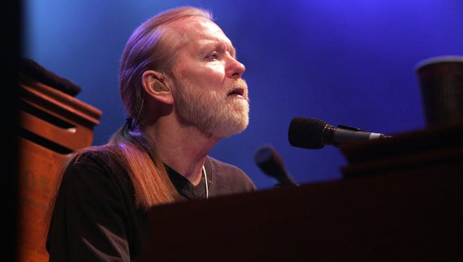 Gregg Allman will be heard twice in the area this summer.