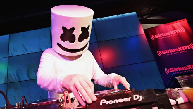 Marshmello will perform May 28 at Indianapolis Motor Speedway.