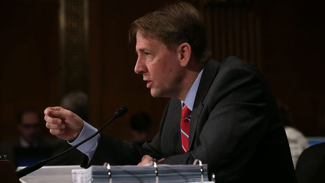 Richard Cordray on Capitol Hill on April 7, 2016.