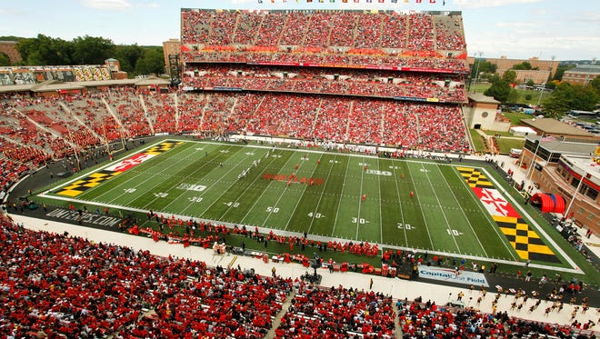 The University of Maryland's Maryland Stadium.