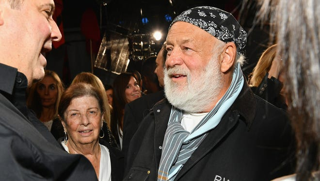 Photographer Bruce Weber during New York Fashion Week on Sept.7, 2017 in New York.