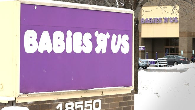The Babies R Us store at 18550 W. Bluemound Road in Brookfield is closing. According to court documents, Toys R Us plans to 182 stores as part of its bankruptcy reorganization.