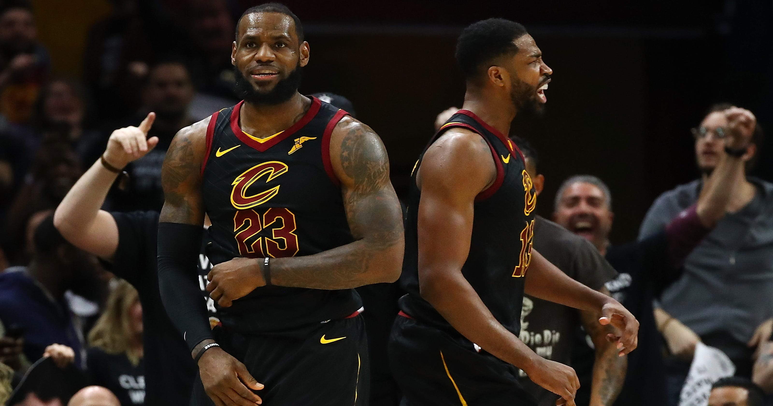 ff03371e22f Tristan Thompson and the Cavs' shrewd Game 7 decision that may have saved  their season