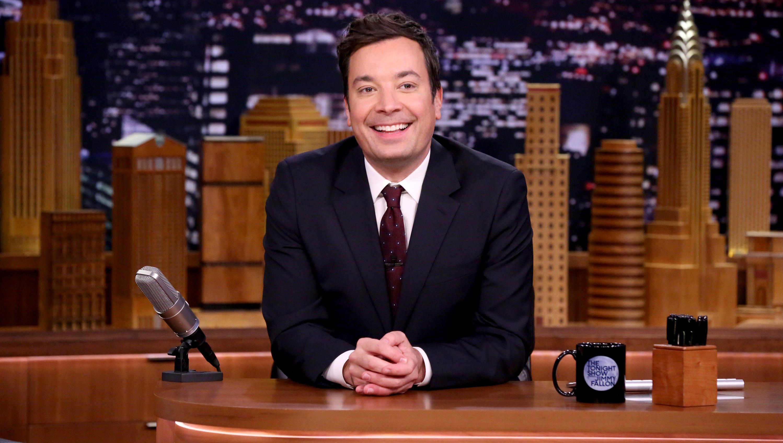 The Tonight Show host Jimmmy Fallon