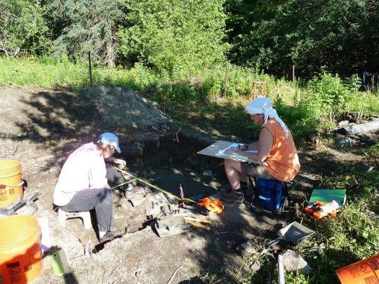 Second preliminary excavation season in 2011.