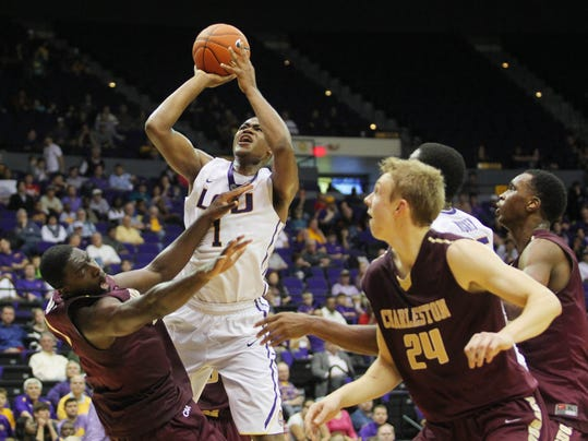 NCAA Basketball: Charleston at Louisiana State