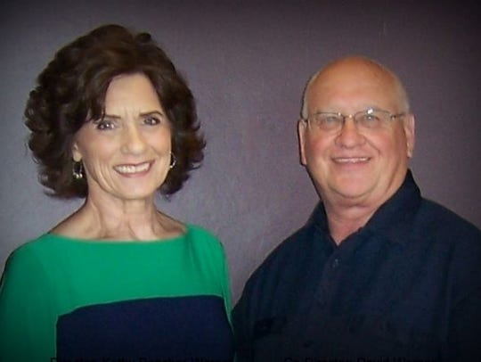 Kathy Boncher-Werner and her husband, David Werner,