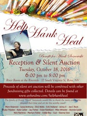 There will be an art silent auction to help with Henry