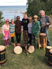 Sheboygan's African Drum and Dance group.