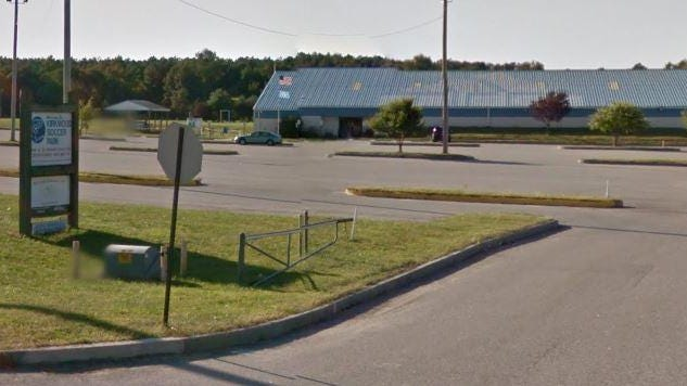 A woman and girl suffered carbon monoxide exposure Monday night as they sat in an air-conditioned car at Kirkwood Soccer Park near New Castle, county paramedics said.