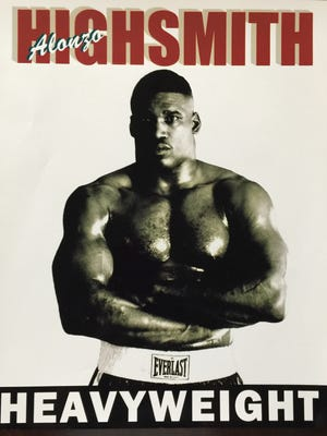 Poster promoting Alonzo Highsmith.