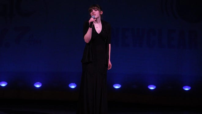 Alex Creamer was named the 2016 youth winner for EPAC Idol.