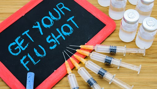 Protecting yourself has much to do with taking care of your health — dressing for the weather, eating nourishing food — and getting that flu shot.