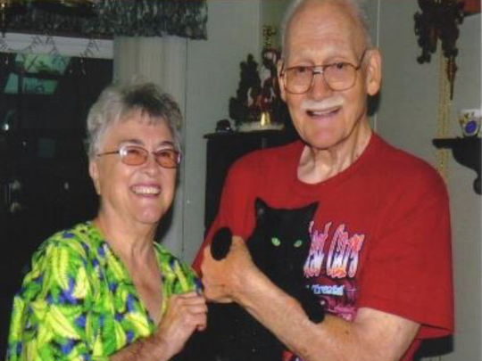 Gloria and Wilbert Scheel, reported missing on March 22.