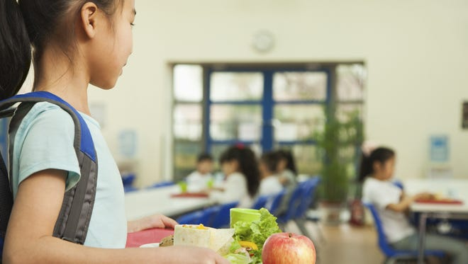 If your child saw someone sitting alone in the cafeteria during lunch, what would they do?