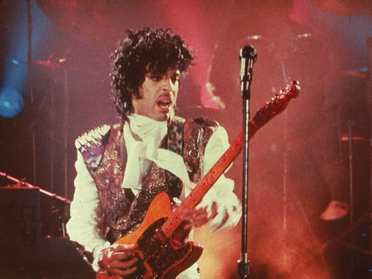 Prince performs in his debut movie, 1984's 'Purple