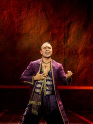 Jose Llana plays The King in Rodgers and Hammerstein's