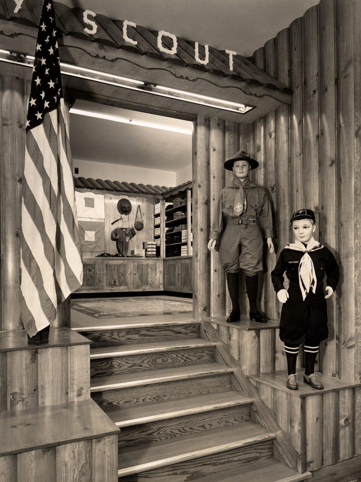 Kositchek's Boy Scout Department, mid-20th Century.