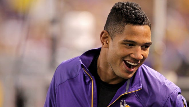 Vikings QB Josh Freeman sat out Sunday's home date with the Packers while recovering from a concussion.