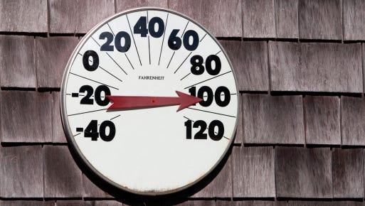 Dangerous levels of heat and humidity Monday in the Montgomery area spurred the National Weather Service to issue a heat advisory.