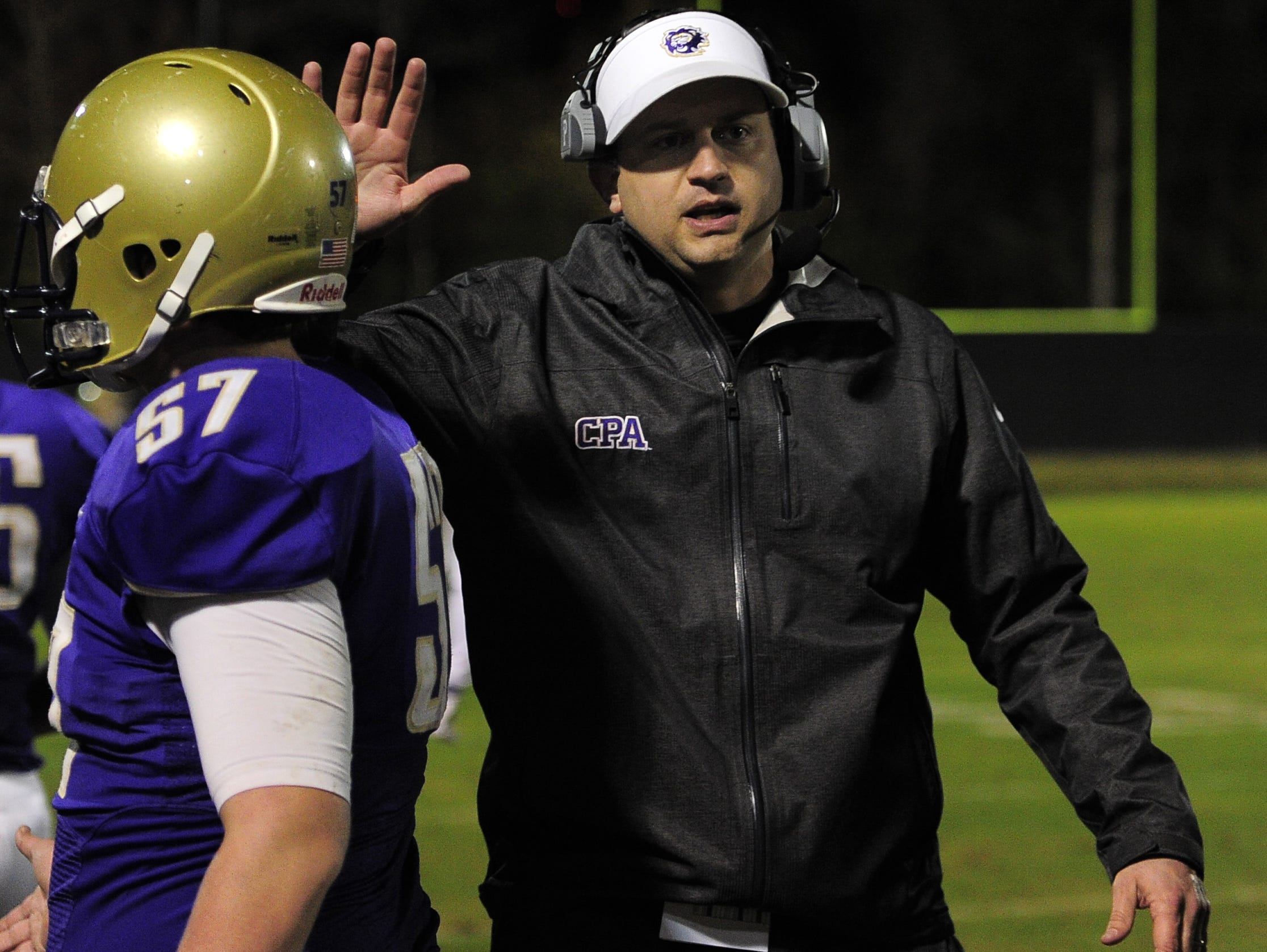 Coach Ingle Martin has compiled a 67-6 record in five seasons at CPA