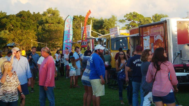 North Palm Beach will host a Food Truck Frenzy event Saturday from 5-9 p.m. at Anchorage Park.