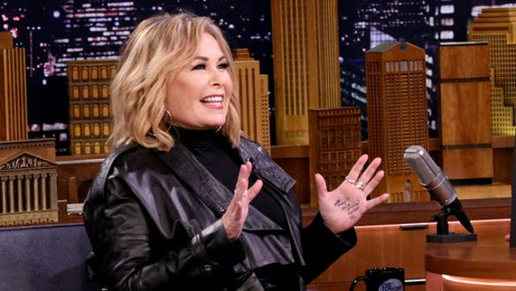 Roseanne Barr appeared as a guest on 'The Tonight Show'