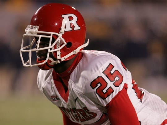 Jason McCourty at Rutgers.