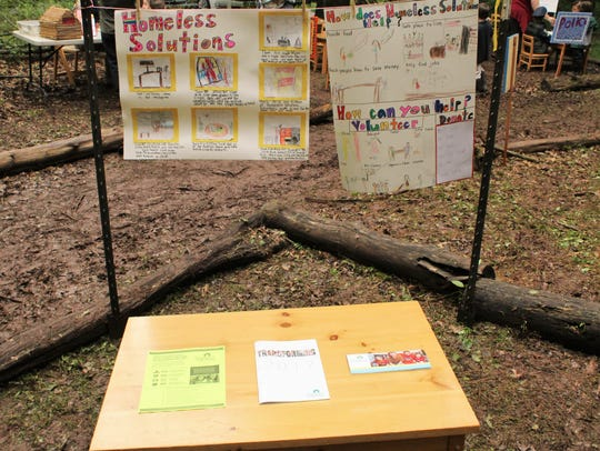 The Willow School's first-graders built their own town