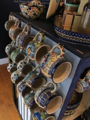 All the Polish stoneware at Pottery Avenue Cottage in St. George is functional as well as beautiful.