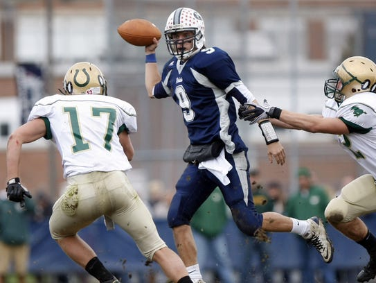 Howell's Ryan Davies set the Shore Conference single-game record for passing yards in the first start of his career in 2010.