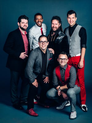 Six Appeal Vocal Band will perform Thursday, Nov. 16, 2017, at The Grand Oshkosh.
