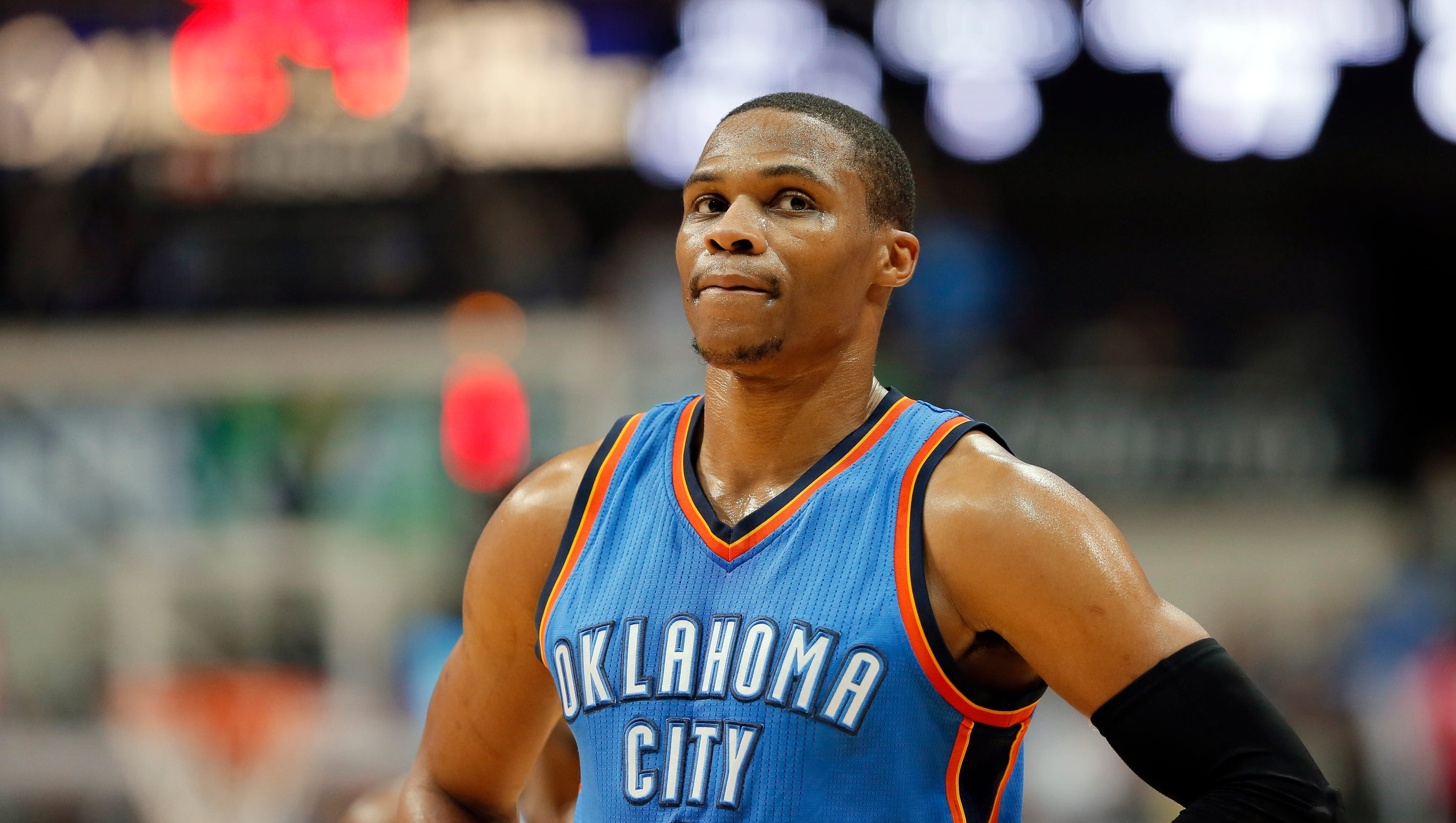 Westbrook takes a shot at Durant: 'That's cute.'