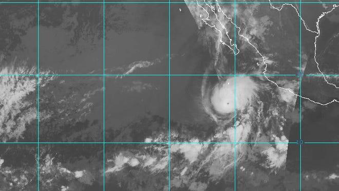 Hurricane Aletta 10:30 a.m. June 8, 2018