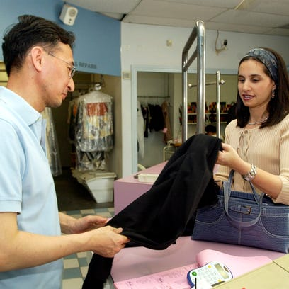 Dry-cleaning is just one example of places women are