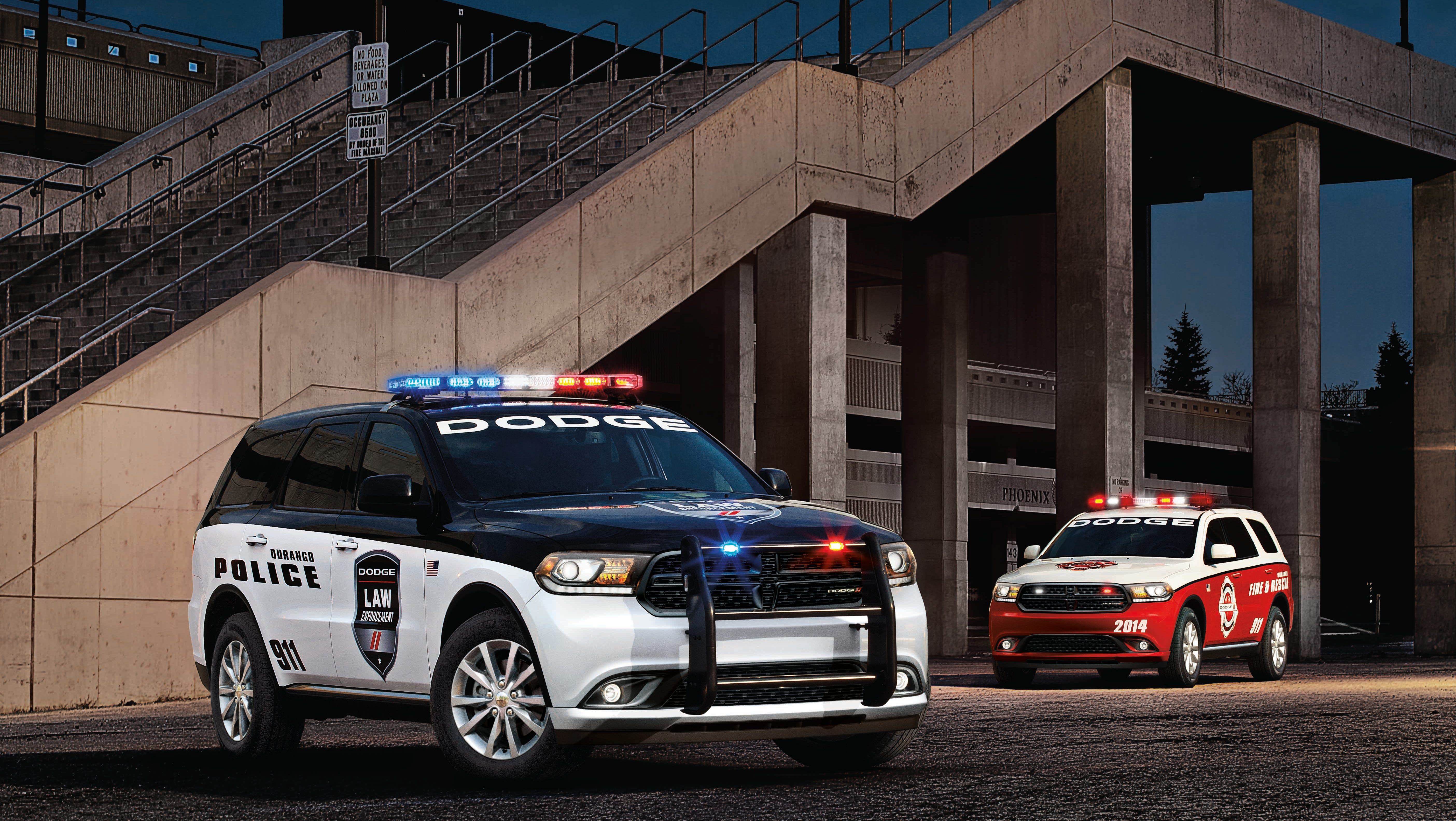 Dodge Offers 2014 Durango For Police Fire Use