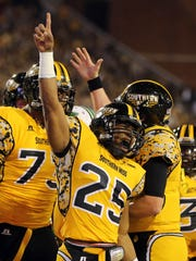 Southern Miss football finished 3-9 in 2014 after a combined record of 1-23 over the previous two seasons, scoring wins over Alcorn State, Appalachian State and North Texas.