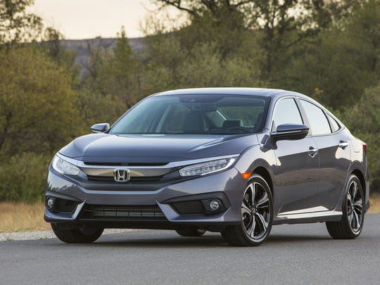 2016 Honda Civic Sedan Touring will be in showrooms later this year.