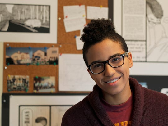 Rose Curley, working on a graphic memoir, is one of
