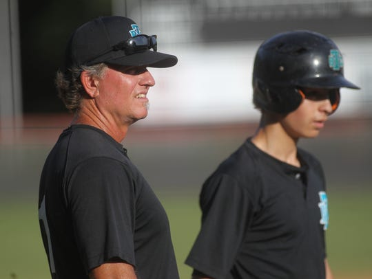Robbie Zimmerman coaches Tallahassee Baseball Club