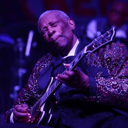 Blues artist B.B. King performs at the Grand Sierra Resort and Casino in Reno in 2007.