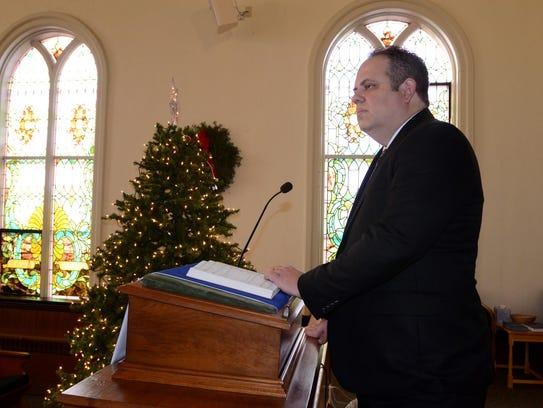 The Rev. Michael Horlocker of South Lyon Presbyterian