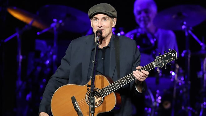 James Taylor and His All-Star Band perform Saturday at the Resch Center.