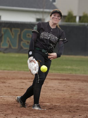 Oshkosh North sophomore Syd Supple threw a five-inning perfect game in a 10-0 win over Kimberly on Tuesday.